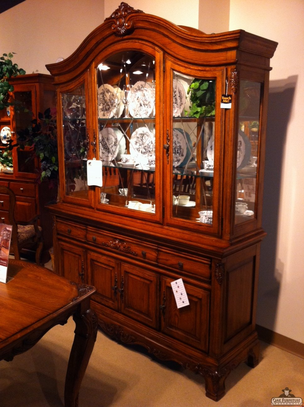 Carved Crown China traditional Furniture Portland