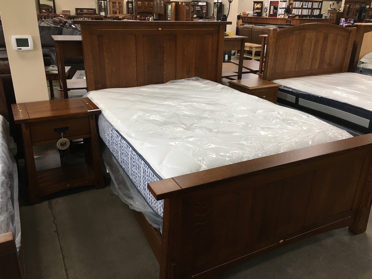 Stickly Amish Furniture similar with inlay