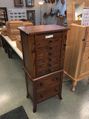 Amish Jewelry Chest USA Made