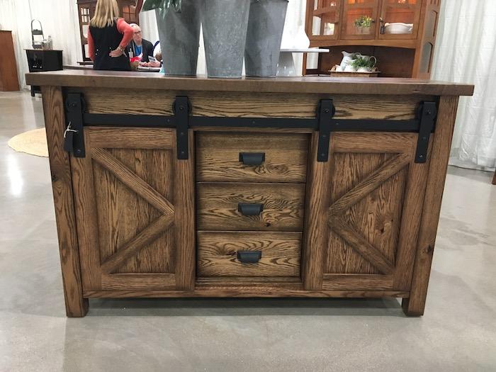 Amish USA Furniture TV Barn door Style