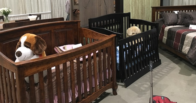 baby furniture amish