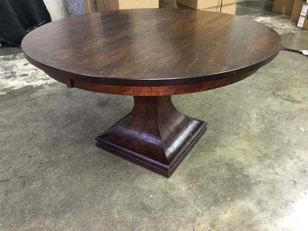 Custom Amish Maple Table