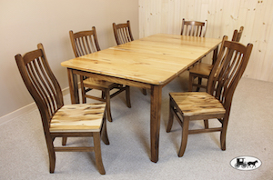 Hickory Amish Table