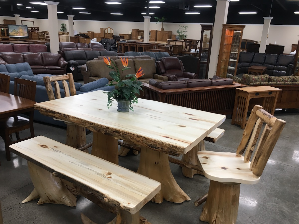 Colorado Aspine Dining, benches, table chairs stools USA Furniture made