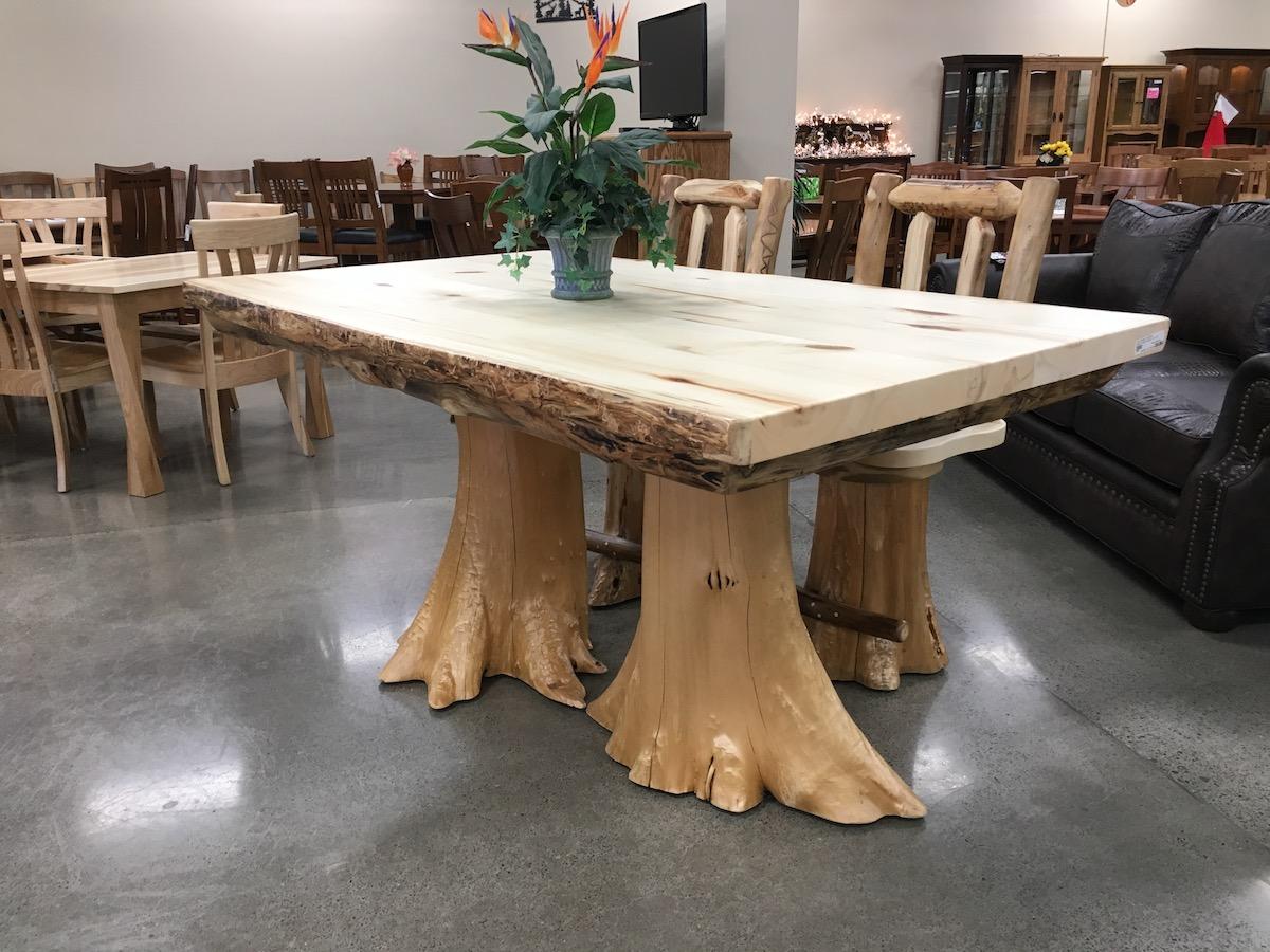 Log Table Amish