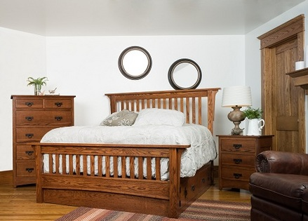 Mission Bedroom Amish