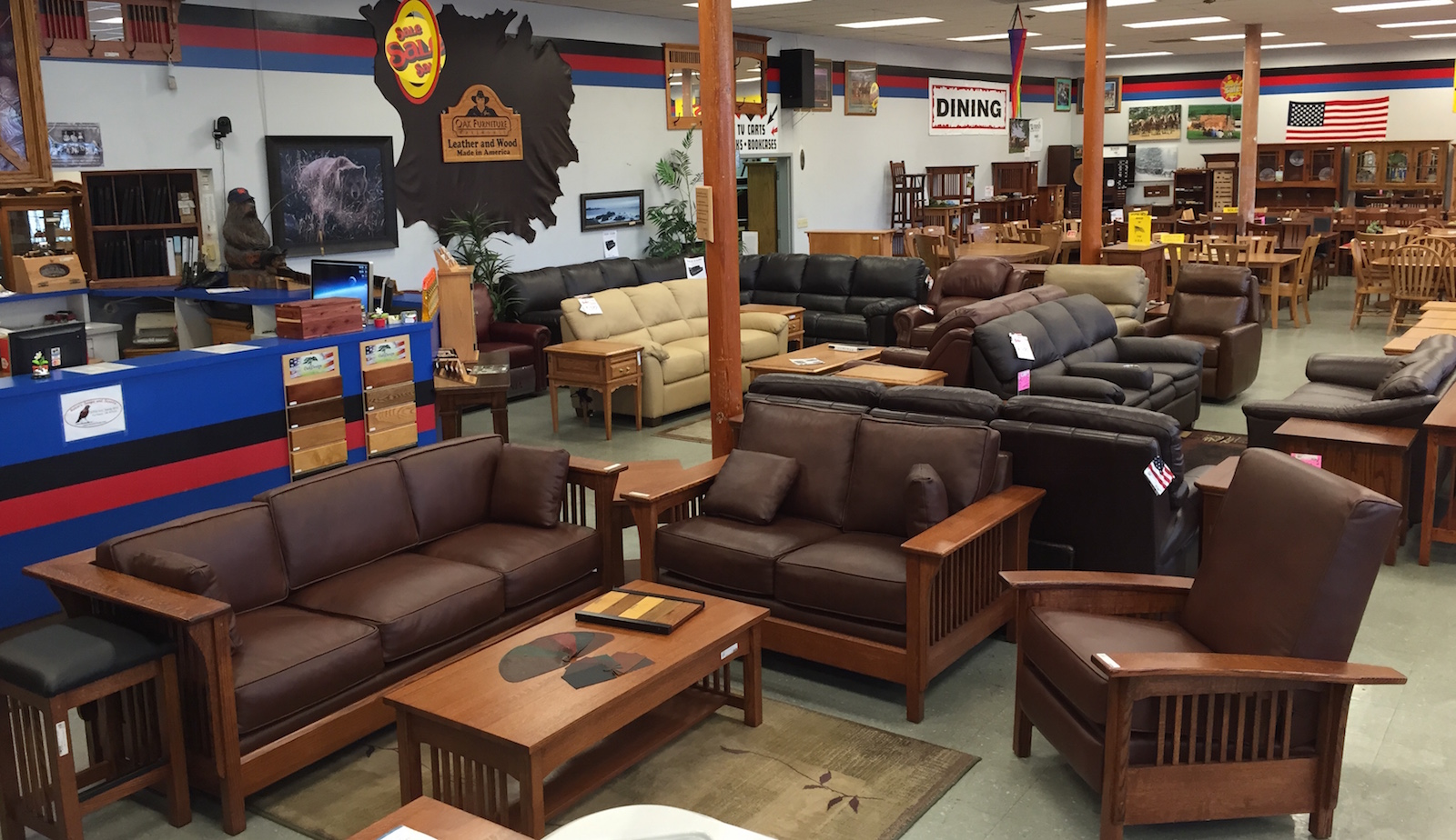 Leather Furniture made in America