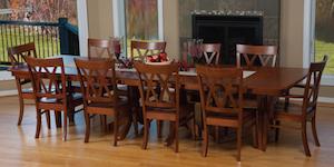 Classic Amish dining set