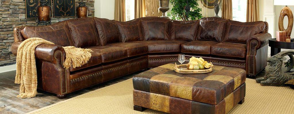 USA Made Leather Furniture Sofa Love