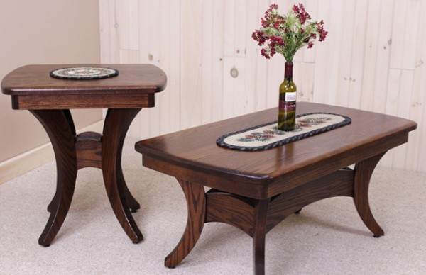 Amish End Tables Coffee options USA Made