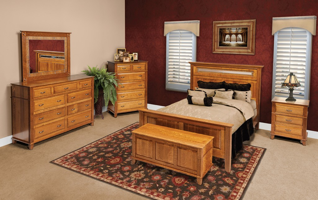 American made bedroom Amish