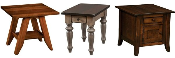 Amish End Tables mix