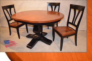 Amish two tone table