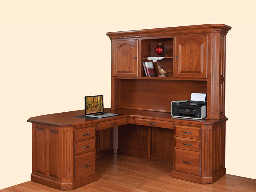 exc amish desk corner l desk