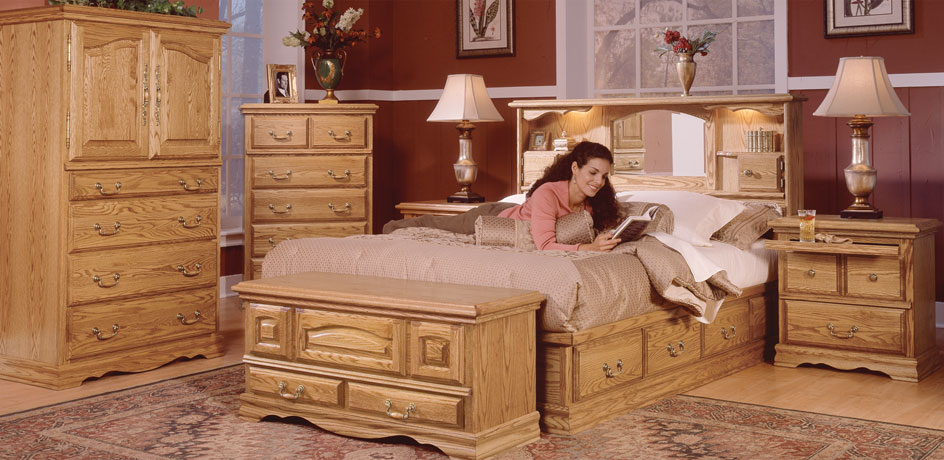 chest bed with storage drawers
