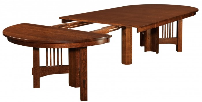 14 Foot Table with 6 leaves Amish made Furniture Portland OR
