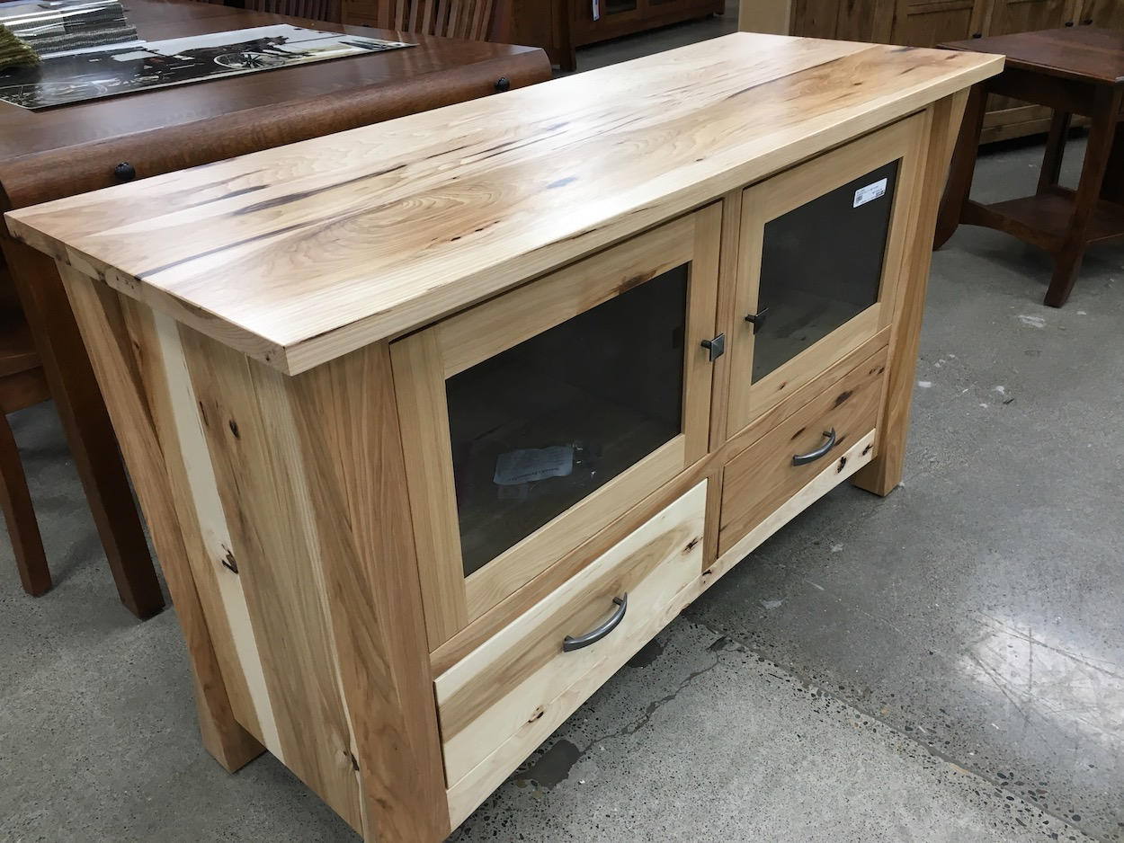 Hickory rustic TV