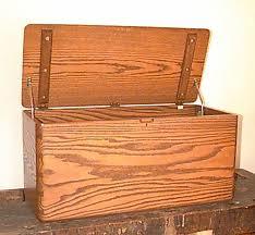 Custom Hope chest oak furniture portland