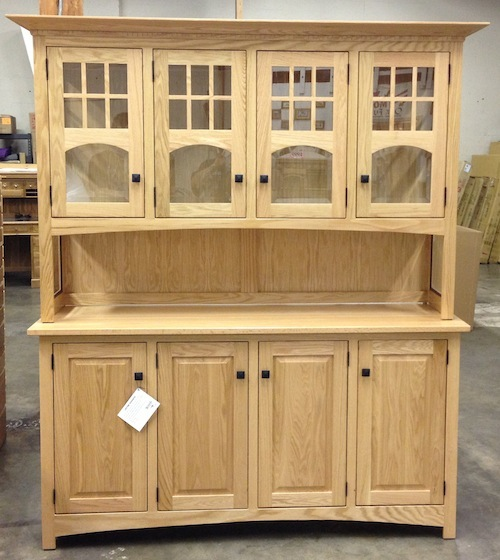 Amish Made Hutch China