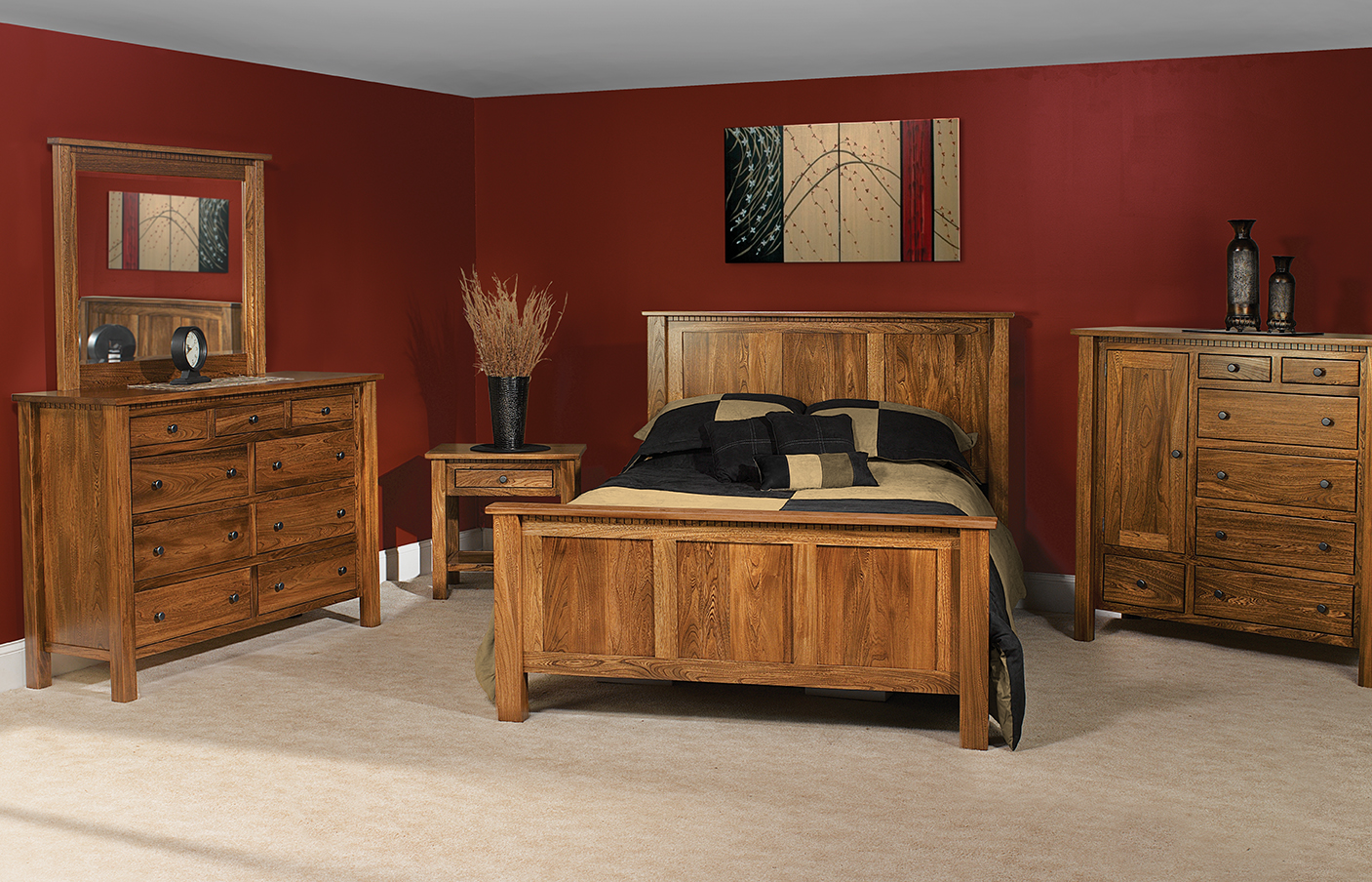 Bedroom Usa Made Furniture Amishusa Furntiure Leather Your Amish Connection