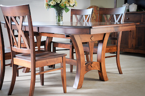 NEW Amish table set USA