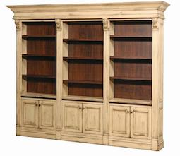 Bookcase wall a 10