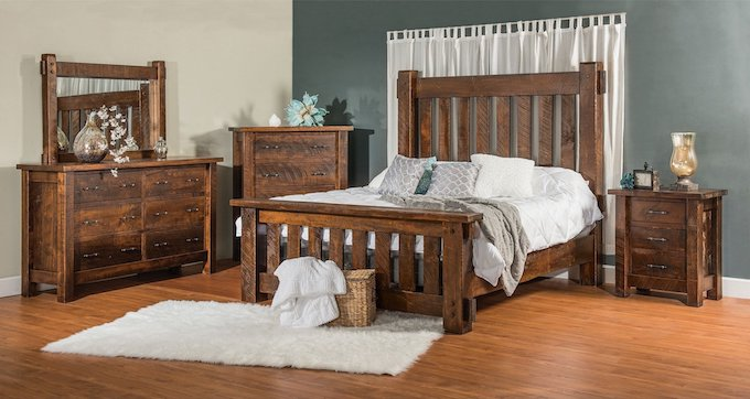 Amish Rustic furniture USA Furniture Oregon