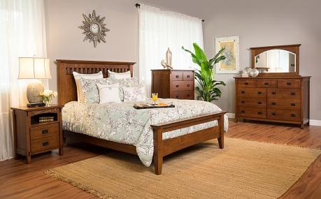Mission Amish Bedroom