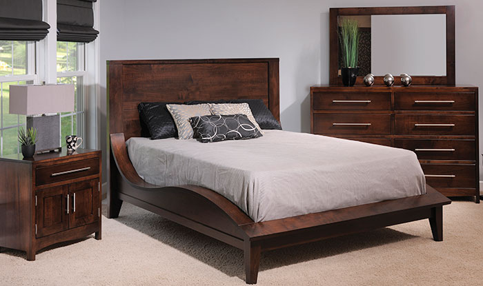 Amish Solid Wood Bed