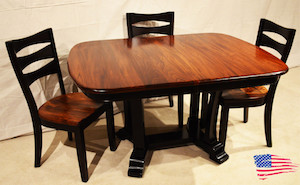 Amish Elm Table