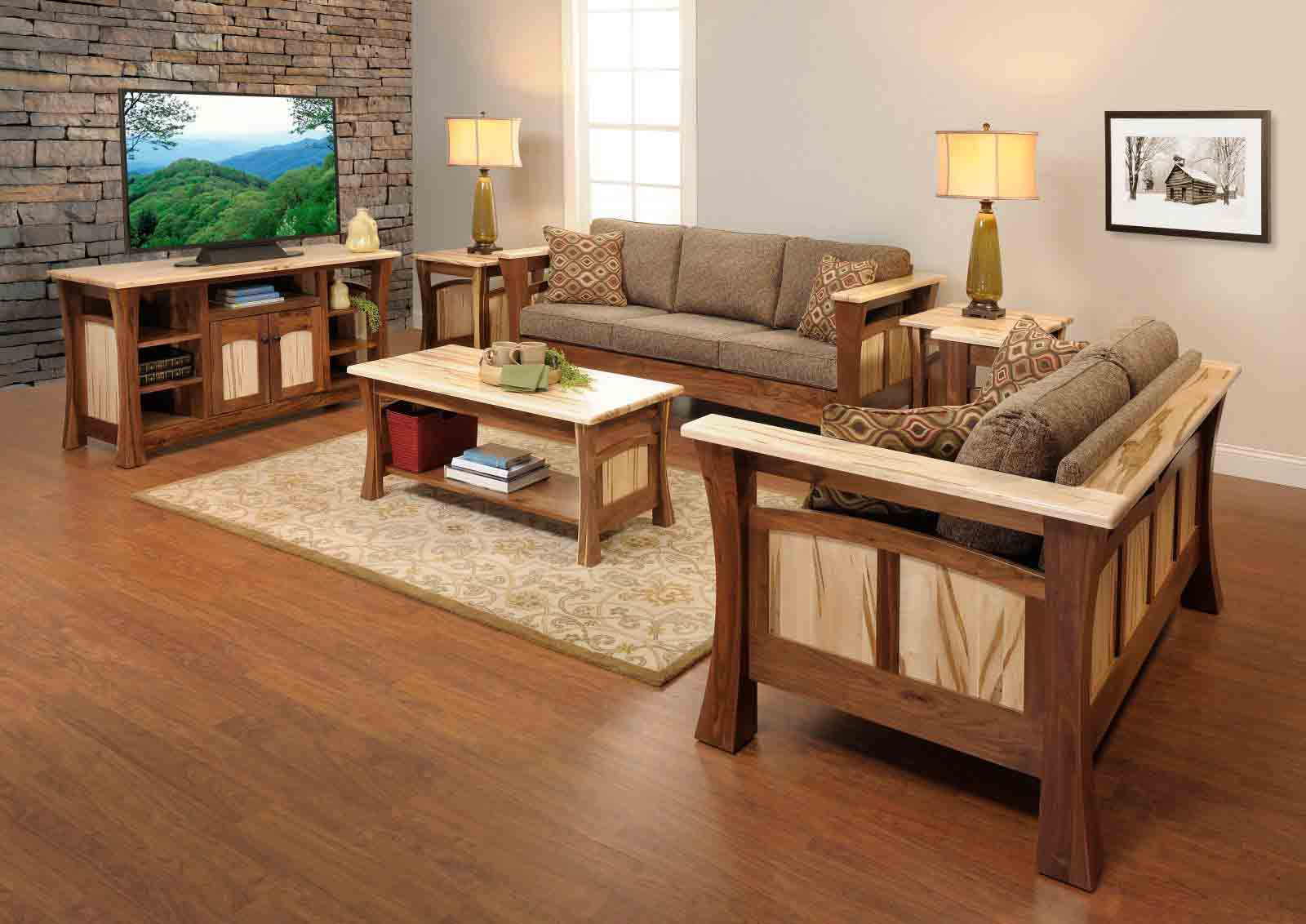 Amish Furniture sofa chairs