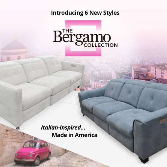 Omnia Leather 48 Bergamo USA Furniture Oregon