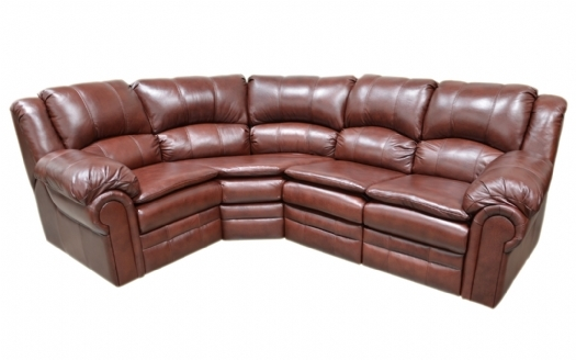 American Made Leather Furniture Sectional Full Grain by Omnia dealer for Oregon