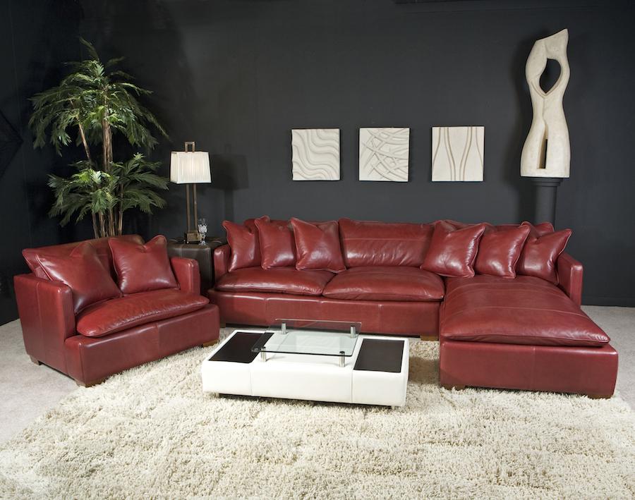 OMVolareSecRamsey Leather - Portland - Oak Furniture ...